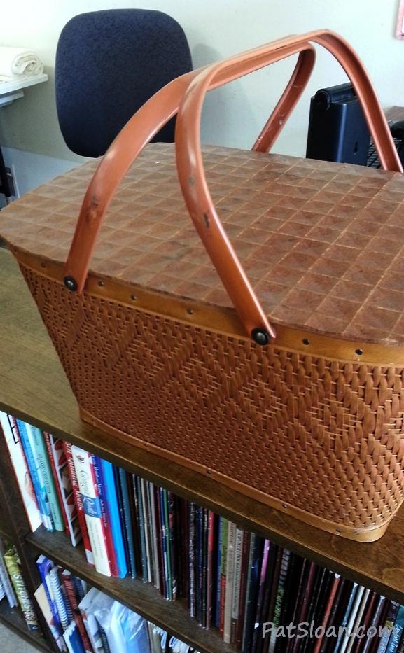 Pat sloan storage basket 1