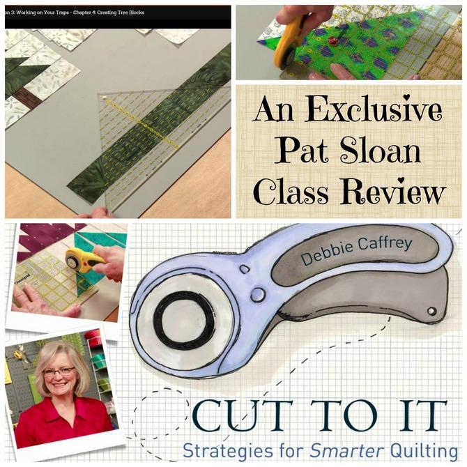 Pat Sloan review cut to it class