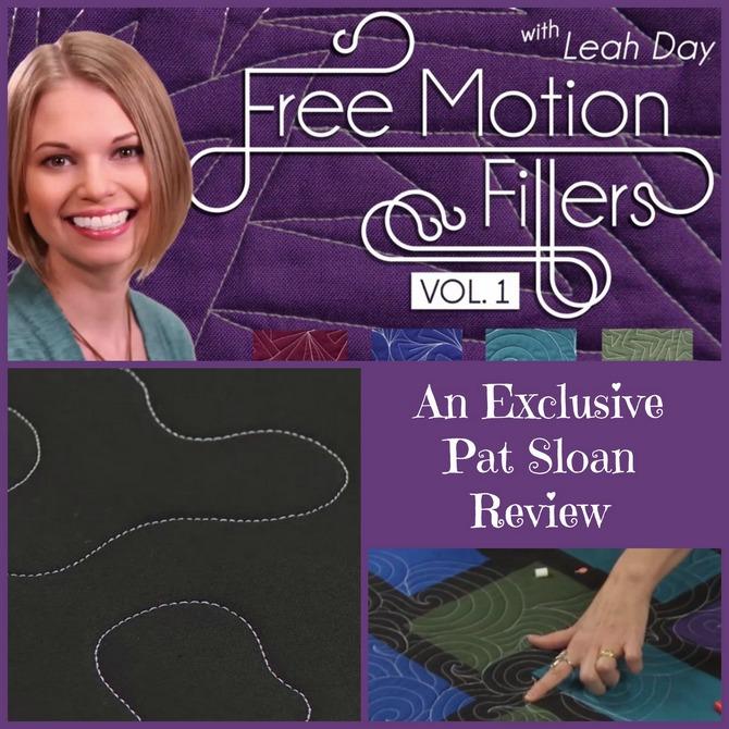 Pat sloan freemotion filler class review button