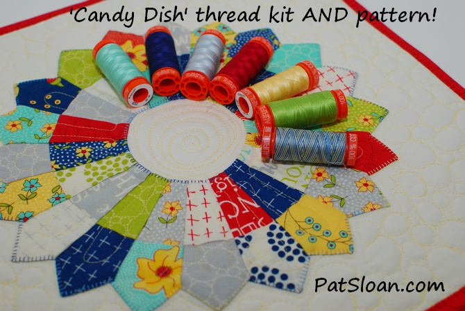 Pat Sloan Limited Edition Thread Mini Charm Pack Kits Pat Sloans