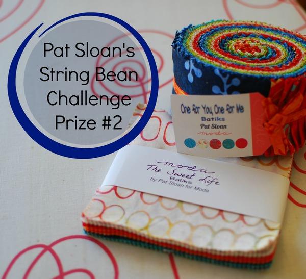 Pat sloan string bean challenge prize 2