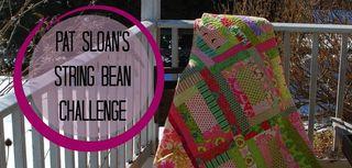 Pat sloan string bean challenge banner2