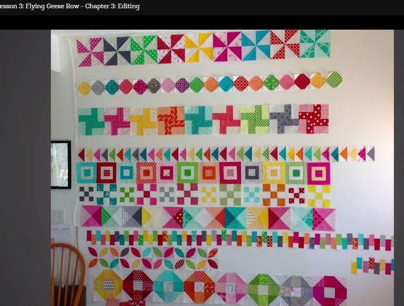 Pat sloan colorful scrap quilt review 4