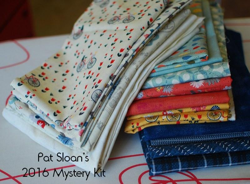Pat Sloan my secret garden  fabrics 1 kit