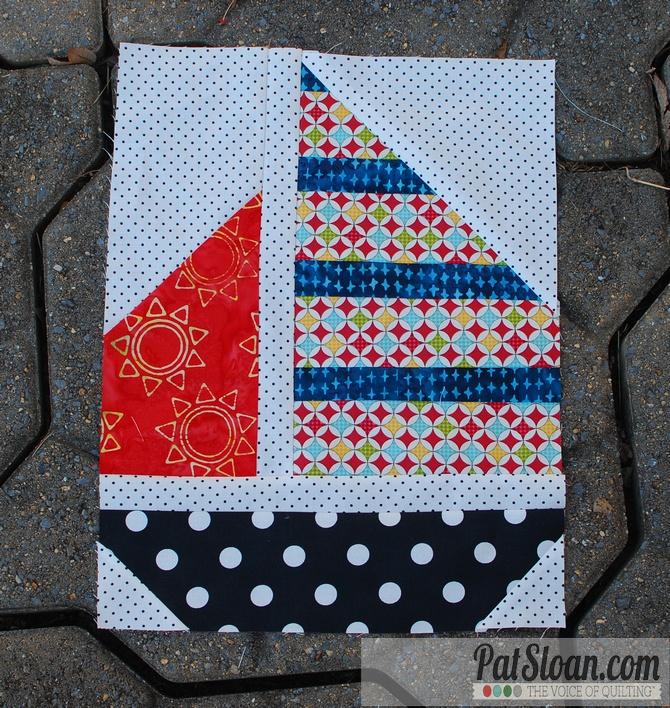 Pat sloan sail away block 2