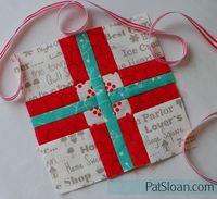 Pat sloan splendid sampler block 5 ribbon