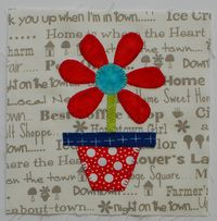 Pat Sloan Just for You quilt block