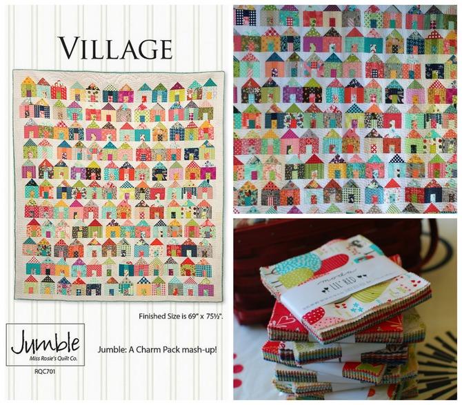 Pat Sloan Little Village pattern