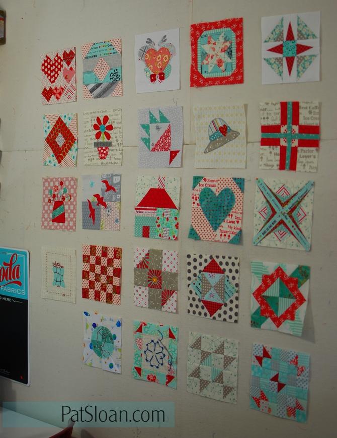 Pat sloan splendid sampler blocks may 6 2016