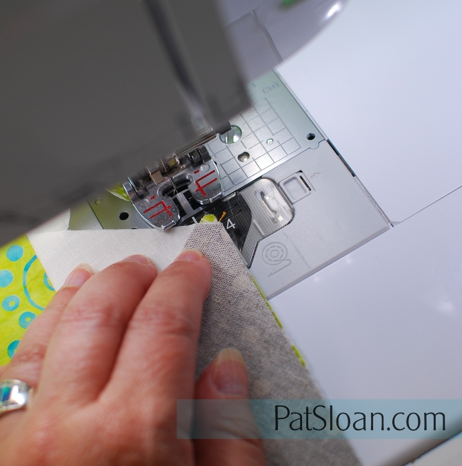 Pat Sloan Little Ruby sewing alignment