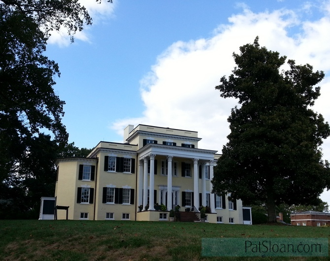 Pat sloan oatlands plantation building