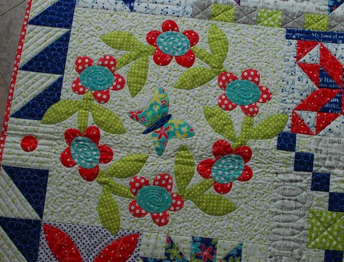 Pat sloan 8 Hometown Charm Sew Along