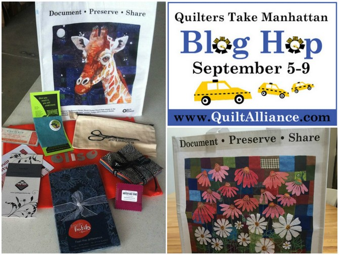 Quilters Take Manhattan 2016 giveaway
