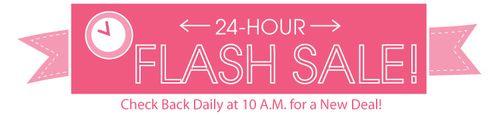 Fat quarter flash sale