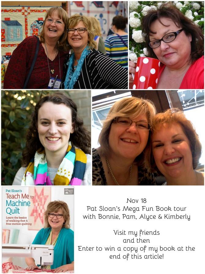 Pat Sloan Nov 18 book tour