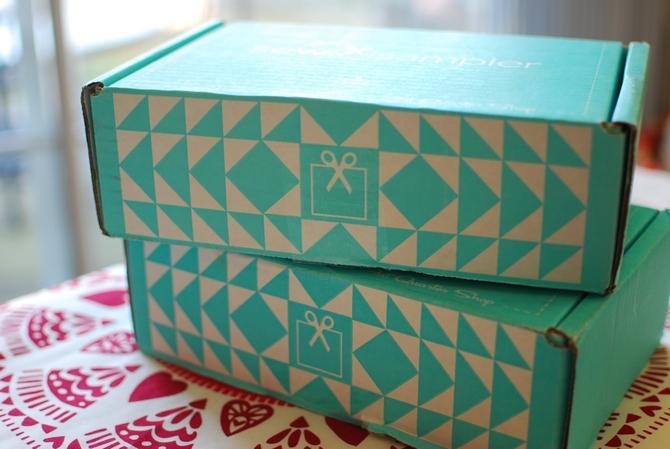 Pat Sloan Sew Sampler boxes