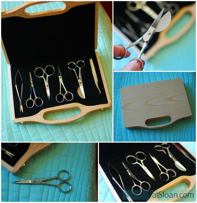 Pat sloan scissor box