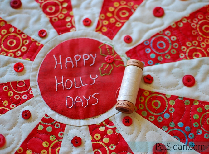 Pat Sloan Happy Holly Days 2