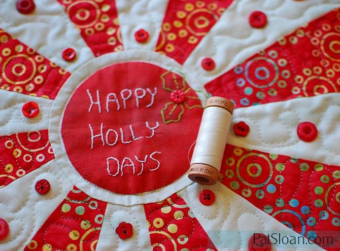 Pat Sloan Happy Holly Days 2