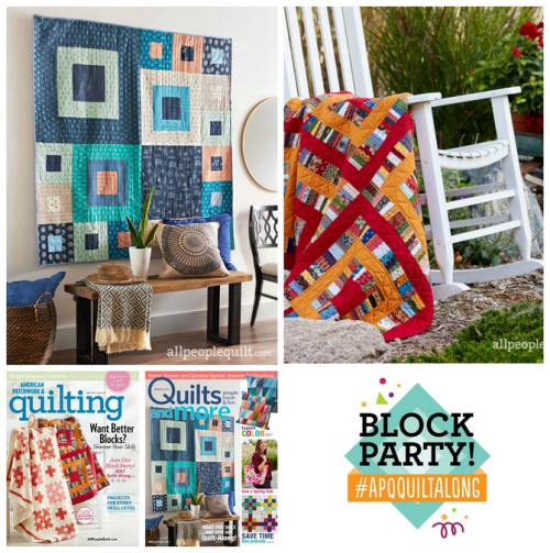 Pat sloan apq quilt along collage
