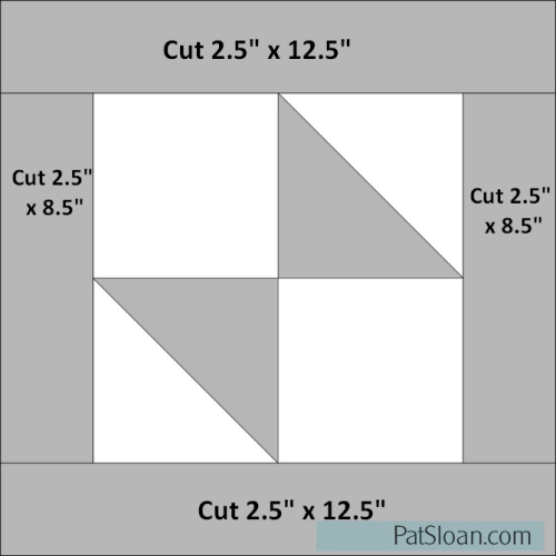 Pat Sloan Solstice Block 9 as 12 inches Diagram2