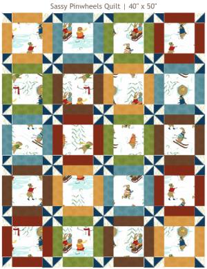 Sassy Pinwheels Quilt Pattern