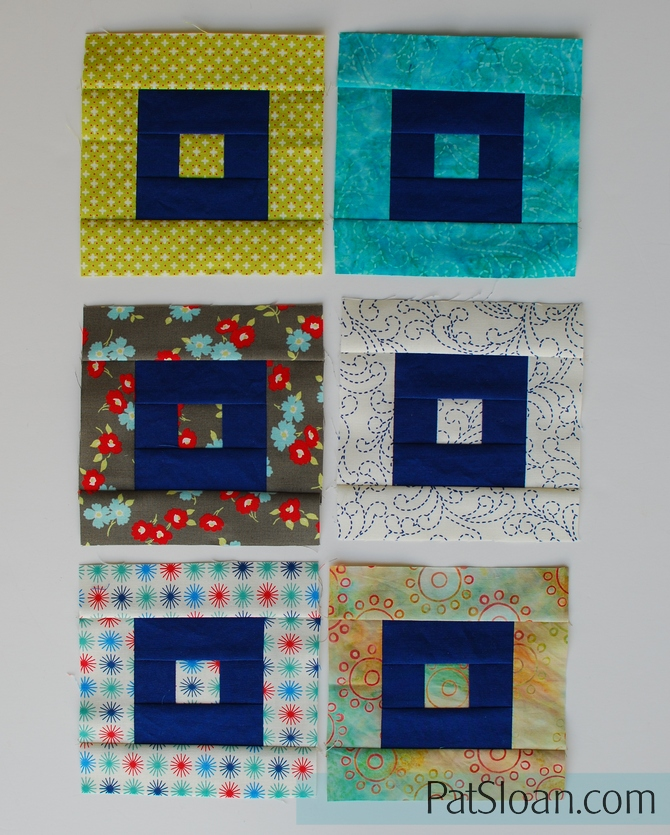 Pat Sloan Patchwork Charity block 3