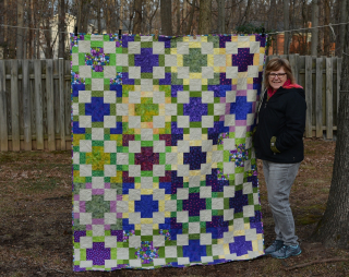Katie peace quilt done 5
