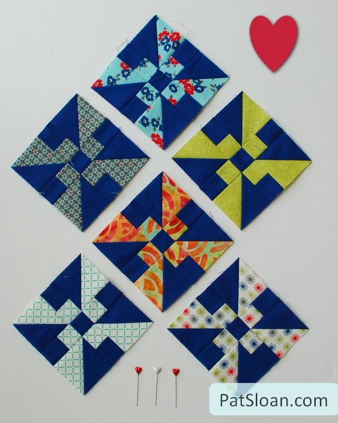 Pat sloan charity quilt block 7 1