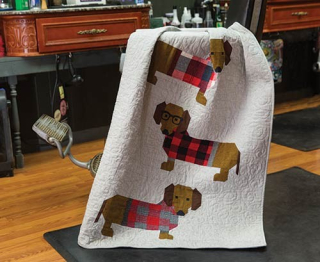 Dogs In Sweaters Quilt Kit2