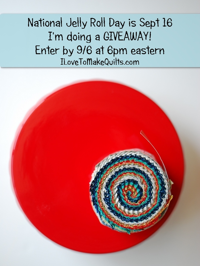 Pat Sloan Jelly Roll day giveaway banne2r
