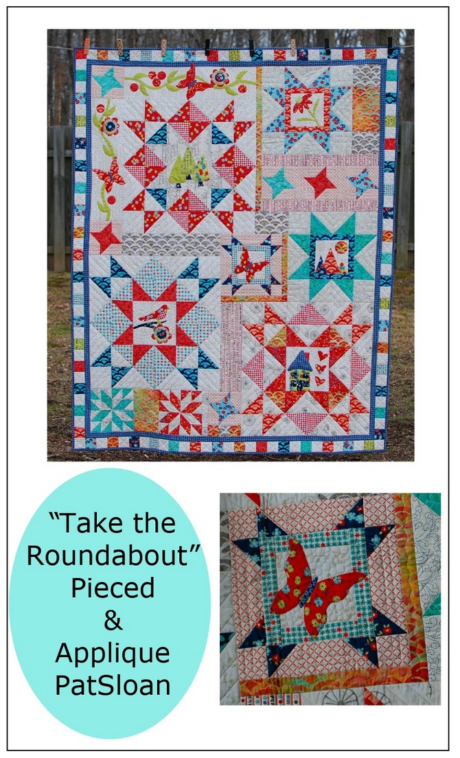 Pat sloan take the roundabout pattern
