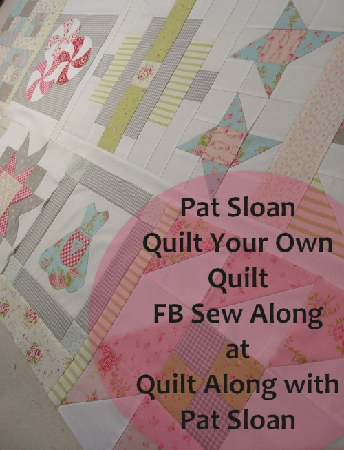 Pat sloan Quilt As You go sections pic 2