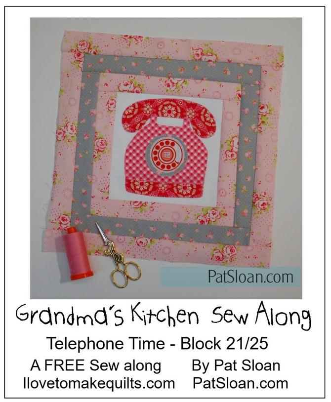 Pat Sloan Block 21 Grandmas Kitchen pic 2