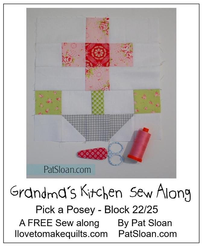 Pat Sloan Block 22  Grandmas Kitchen pic 1
