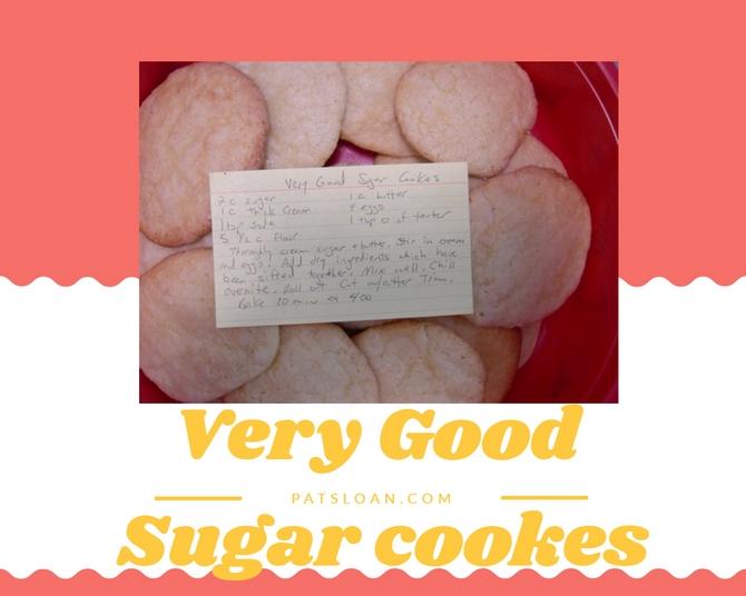 Pat Sloan Very Good Sugar Cookies pic 1