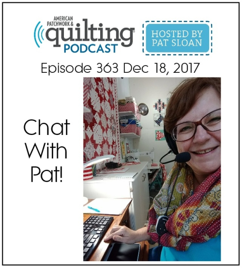 1 chat with pat sloan Show button
