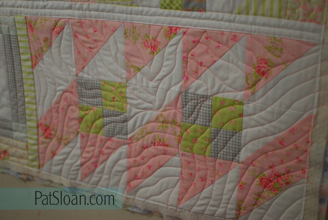 Pat Sloan Quilt Your Own Quilt assignment 3 pic2