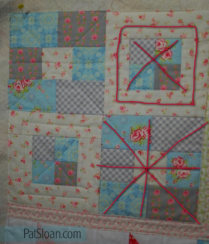 Pat Sloan Quilt Your Own Quilt assignment 3 pic 7