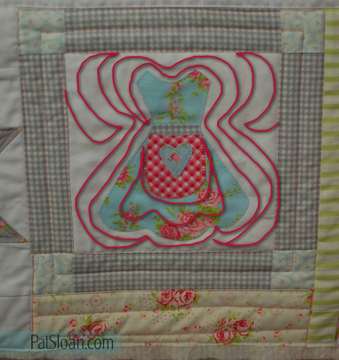 Pat Sloan Quilt Your Own Quilt assignment 3 pic 6