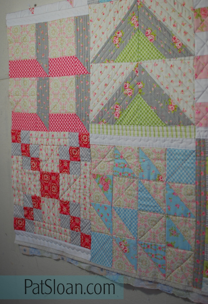 Pat sloan Quilt Your own quilt row 3 4 gmk plan