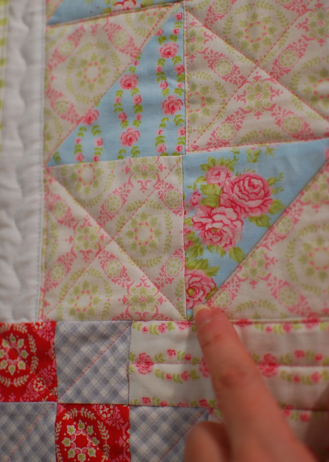 Pat sloan Quilt Your own quilt tip