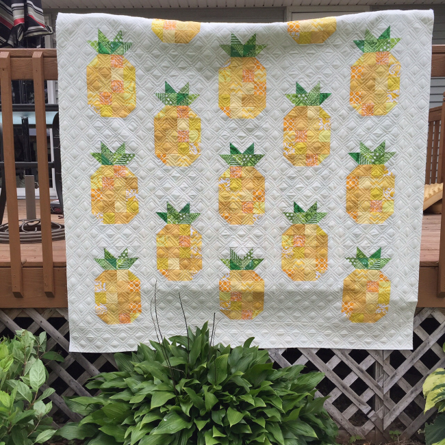 Jackie padesky pineapple quilt full quilt