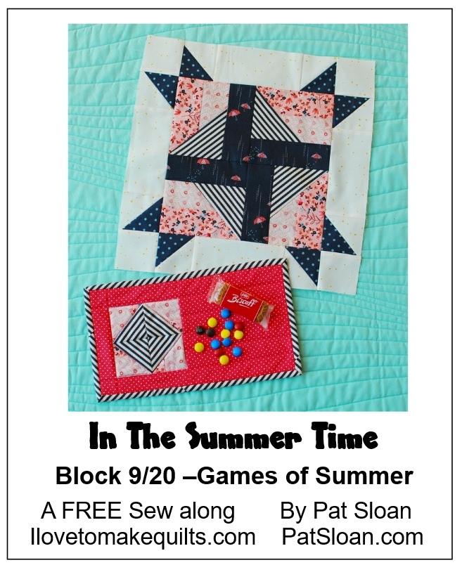 Pat Sloan Block 9 In the Summer Time banner