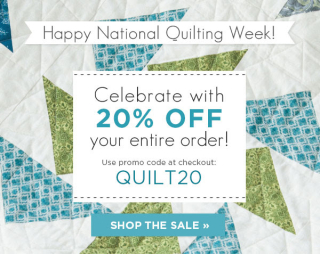 National quilting week sale