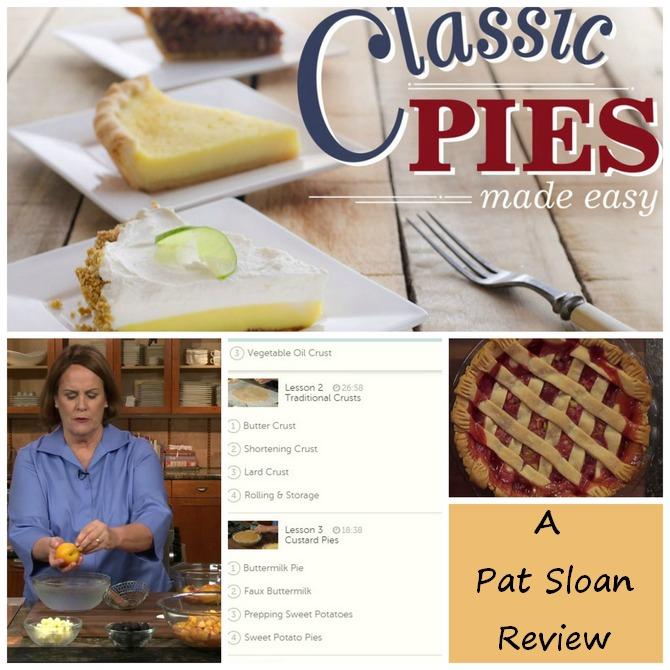 Pat sloan class review pie making