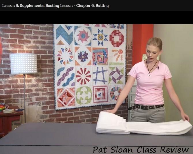 Pat sloan free motion filler class review 4