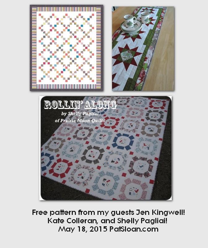 Pat sloan may 18 2015  free patterns