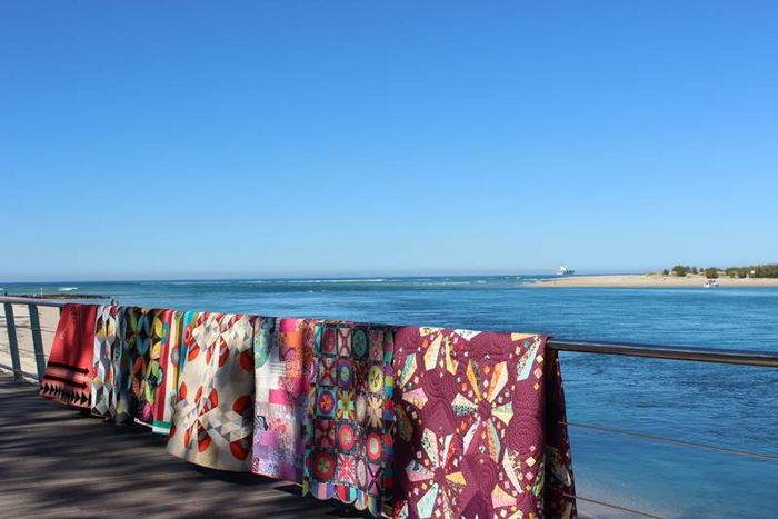 Jane Desert to Sea, 10 quilts from Australian Designers'