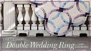 Pat sloan link double wedding ring